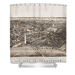 Washington D.c., 1892 Shower Curtain