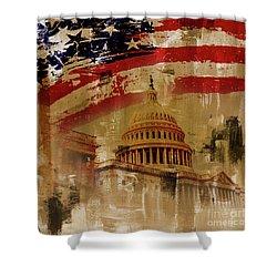 Washington Dc Shower Curtain