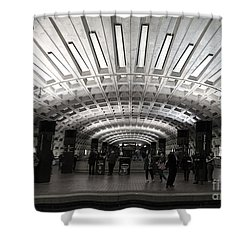Washington Dc Metro Metro Center Stop Shower Curtain