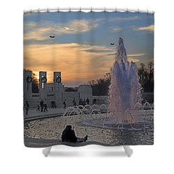 Washington Dc Rhythms  Shower Curtain