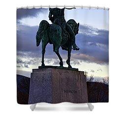 Washington Monument At West Point Shower Curtain