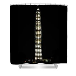 Washington Monument In Repair Shower Curtain