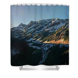 Washington Pass Rising Shower Curtain