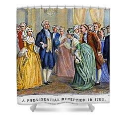 Washington Reception, 1789 Shower Curtain by Granger