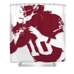 Washington Redskins Robert Griffin Jr Shower Curtain