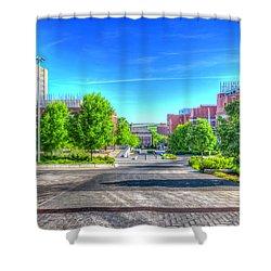 Washington State University Shower Curtain by Spencer McDonald