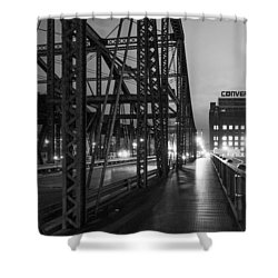 Washington Street Bridge Shower Curtain