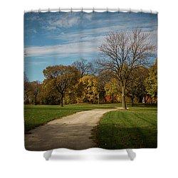 Washington Walkway Shower Curtain
