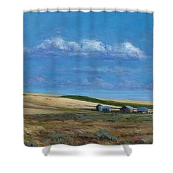 Washington Wheatland Classic Shower Curtain