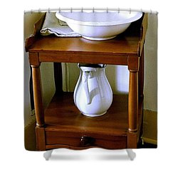 Washstand Shower Curtain