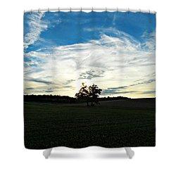 Wasting Time Shower Curtain by Cyryn Fyrcyd