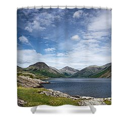 Wastwater Morning Shower Curtain