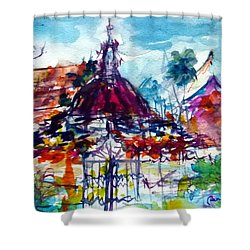 Wat Chimphli Sutthawat Shower Curtain
