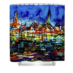 Wat Phra Kaew Shower Curtain