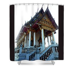 Wat Sawangfa 11 Shower Curtain