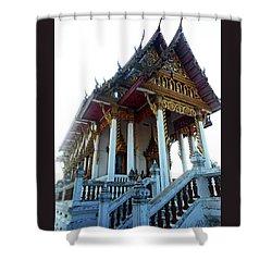 Wat Sawangfa 11 Shower Curtain