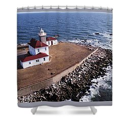 Watch Hill Lighhouse Shower Curtain