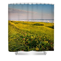 Watch Hill Sunrise Shower Curtain by Susan Cole Kelly