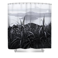 Watch Over Shower Curtain by Jez C Self
