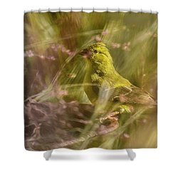 Watch What You Eat.... Shower Curtain