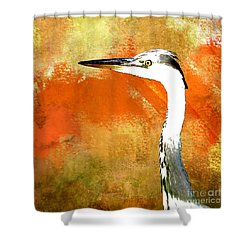 Shower Curtain featuring the photograph Watching by LemonArt Photography