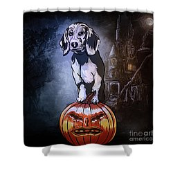 Watchman. Shower Curtain