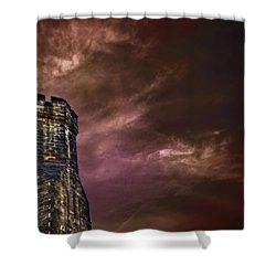 Watchtower Shower Curtain by Evelina Kremsdorf