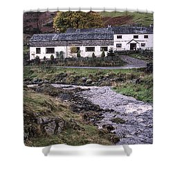 Cosy Cottages Shower Curtain