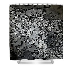 Water Abstract 7 Shower Curtain