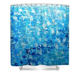 Water And Light 2016 Shower Curtain