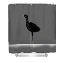 Water Bird Shower Curtain