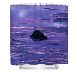 Water By Jenny Potter Shower Curtain