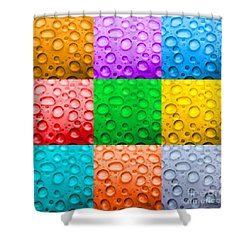 Shower Curtain featuring the photograph Water Color by DJ Florek