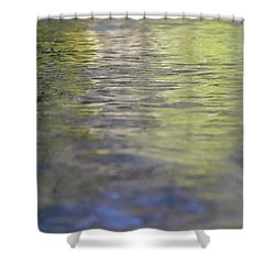 Water Colours Shower Curtain