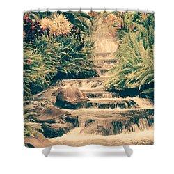 Water Creek Shower Curtain by Sheila Mcdonald