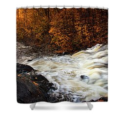 Water Dances Shower Curtain