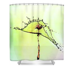 Water Drop #7 Shower Curtain