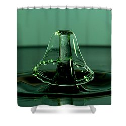 Water Drops Shower Curtain by Jay Stockhaus