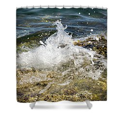 Water Elemental Shower Curtain