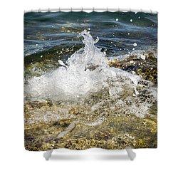 Water Elemental Shower Curtain