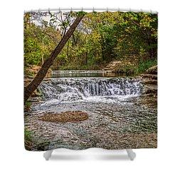 Water Fall Shower Curtain by Doug Long