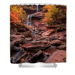 Shower Curtain featuring the photograph Water Falls  by Anthony Fields