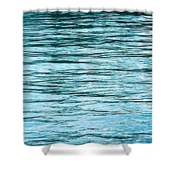 Water Flow Shower Curtain by Steve Gadomski