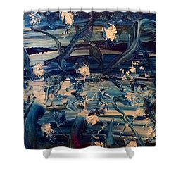 Water Garden Beyond Flight Shower Curtain