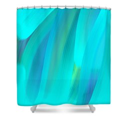 Water Shower Curtain by George Pedro