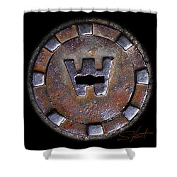 Water Hole 3 Shower Curtain