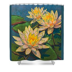 Water Lilies 11 Shower Curtain