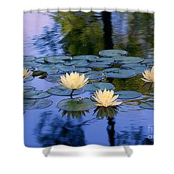 Shower Curtain featuring the photograph Water Lilies by Lisa L Silva