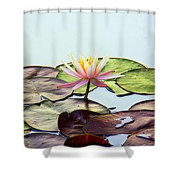 Shower Curtain featuring the photograph Water Lily Dream by Lisa L Silva
