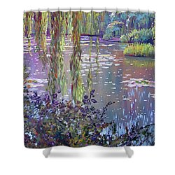 Water Lily Pond Giverny Shower Curtain